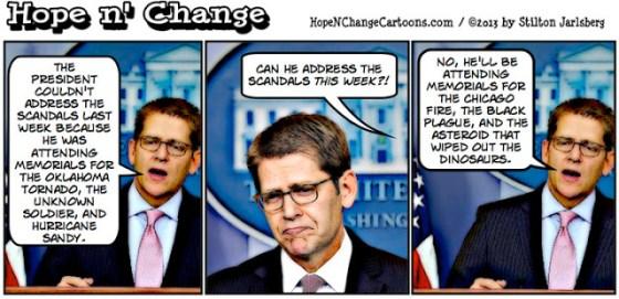 Jay Carney Obama Scandals