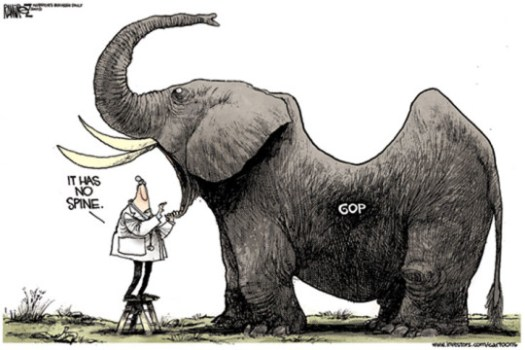 GOP spineless