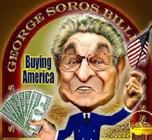 George Soros Buying America