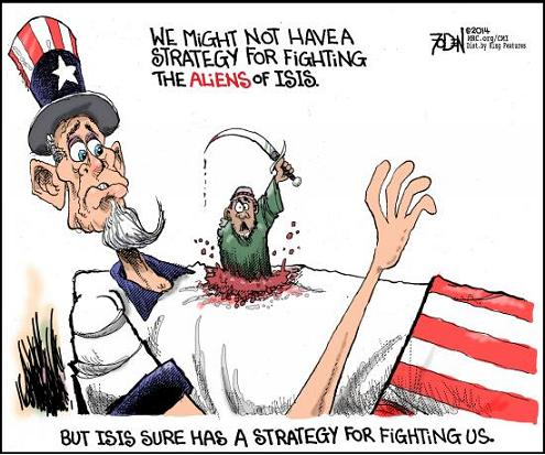 ISIS strategy for America