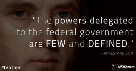James Madison 10th Amendment
