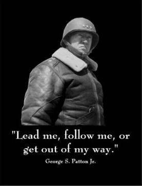 George Patton - lead me