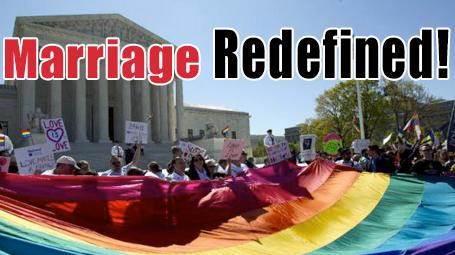 Homosexual - Marriage Redefined