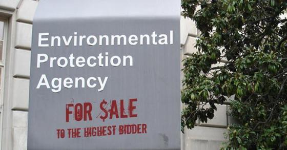 EPA - For Sale to Highest Bidder
