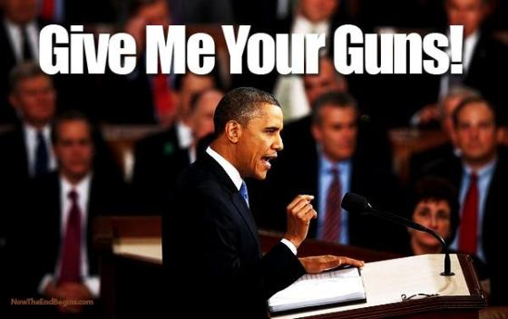 Obama - Give Me Your Guns