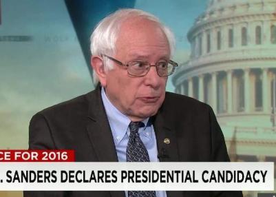Sanders declares candidacy