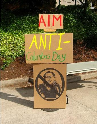 AIM Anti-Columbus Day