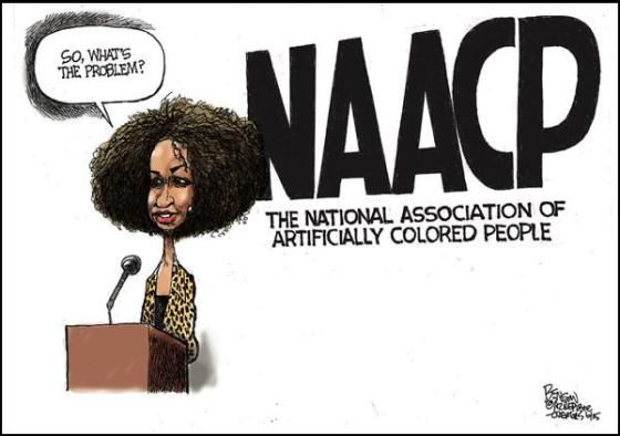 NAACP - National Association of Artifically Colored People