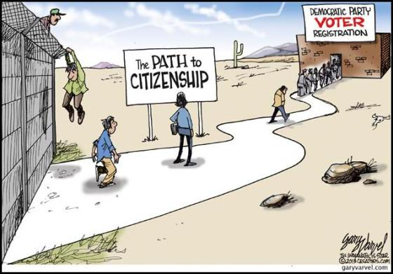 illegal-immigration path to citizenship