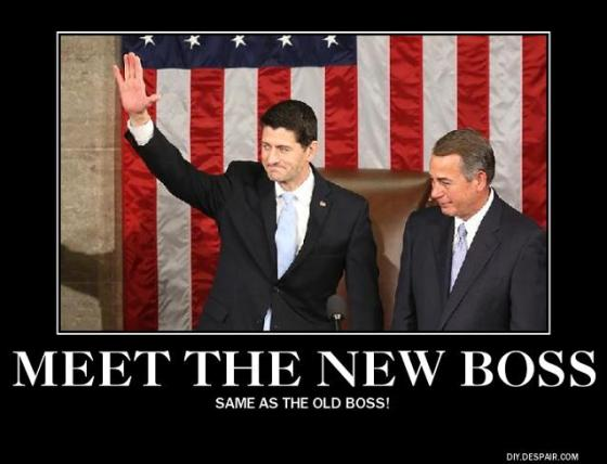 Boehner and Ryan poster