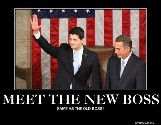 Boehner and Ryan poster