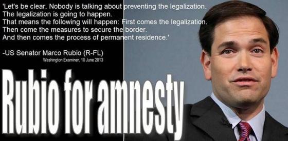 Rubio for amnesty