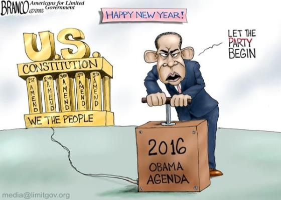 2016 - Obama blows up Constitution