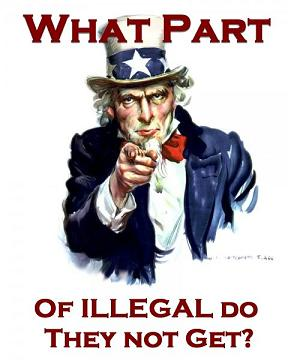 Illegal immigration Uncle Sam