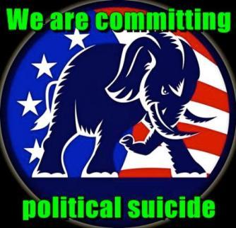 Republican political suicide