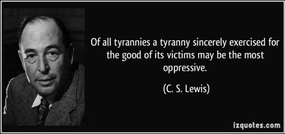 Tyranny - CS Lewis
