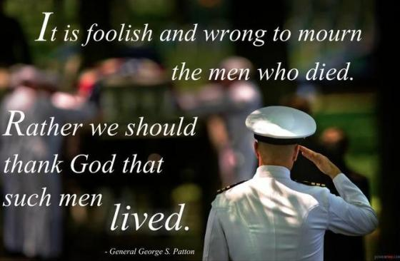 George Patton - Memorial Day