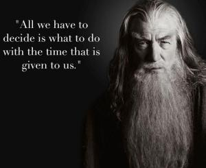 Gandalf - advice to Frodo