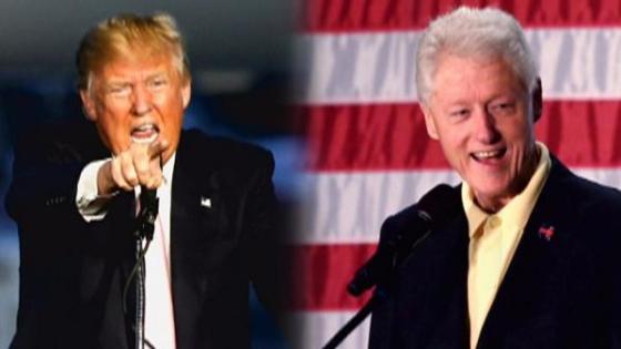 trump-bill-clinton