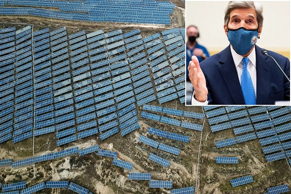 stridentconservative.com - David Leach - Kerry making millions of dollars from solar panels built by Uyghur slaves