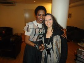 Miss Lauryn Hill, at her performance in Oslo 2013