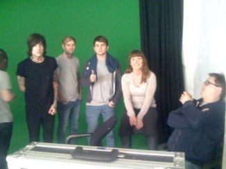 Eva Lill Kristengård helped me with wig in the movie for Bring me the horizon. 2010/2011