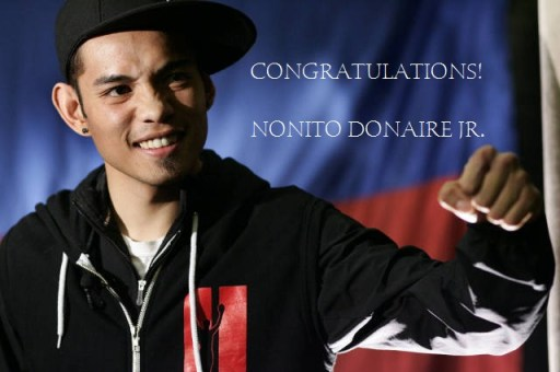 Donaire VS Mathebula Results