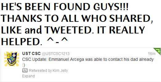 CSC Update Arcega
