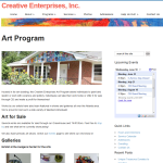 Creative Enterprises - Art Program