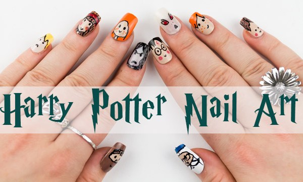 Nail Polish Designs Harry Potter
