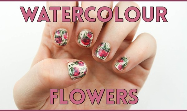 Watercolor Nail Art Tutorial