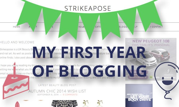 My Blog is 1 Year Old