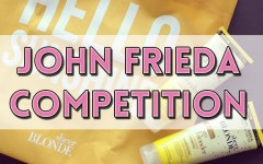 john frieda competition