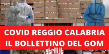 Coronavirus Reggio Calabria, Gom: 10 ricoveri, 3 dimissioni. In terapia intensiva sono 6