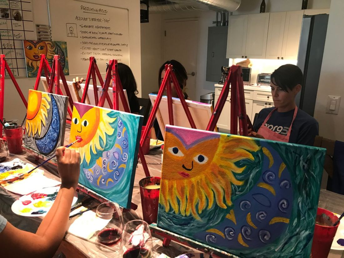 Team Paint Party