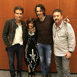 StringsforaCURE Foundation Members meet Richard Marx and Rick Springfield