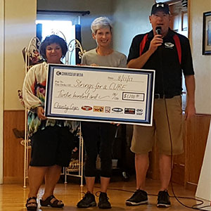 Connoisseur Media Golf Outing Raises Funds for StringsforaCURE