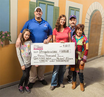 Take a Bite Out of Cancer Golf Tournament Raises $3,000 for StringsforaCURE<sup>®</sup>