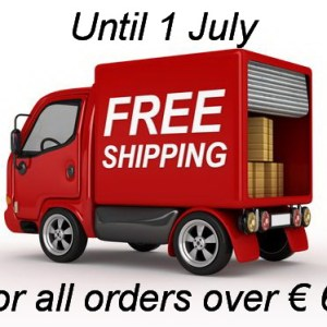 No shipping cost over € 60