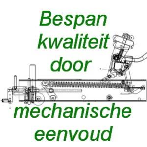 Bespankwaliteit door mechanische eenvoud