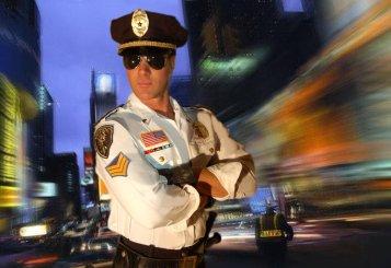 costume de flic américain pour agence de surprise strip-tease à domicile