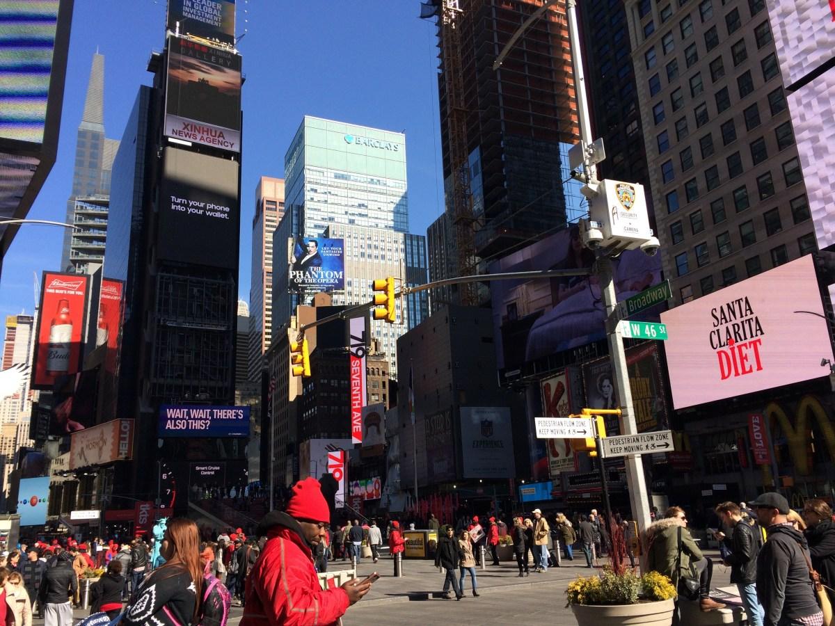 Frigid New York Jaunt