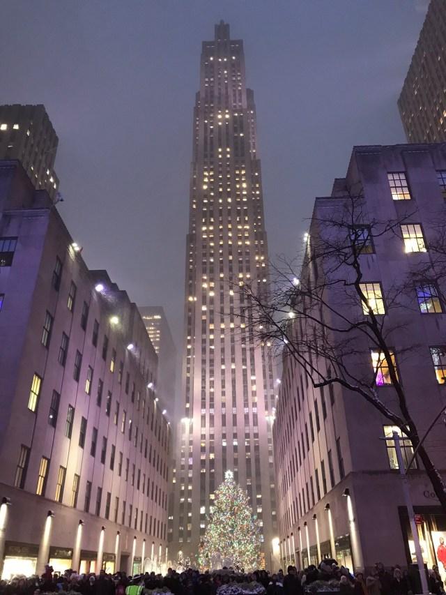 The Rockefeller Center, Christmas time