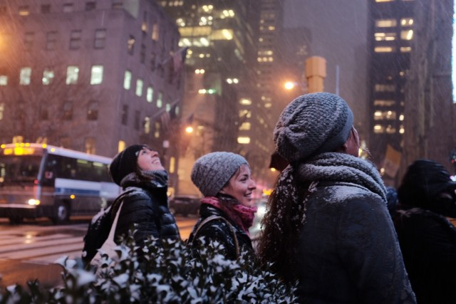 Sak's Fifth Avenue at Christmas