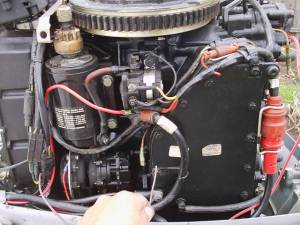 70 hp Evinrude problems:( pics  Boating and Boat Fishing