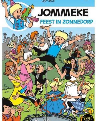 Jommeke 301 – Feest in Zonnedorp