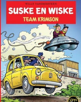 suske en wiske 352 Team Krimson