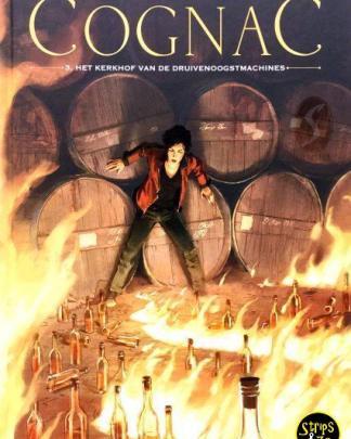 Cognac 3 - Het kerkhof van druivenoogstmachine