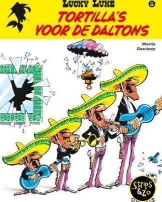 Lucky Luke 21 Tortillas voor de Daltons