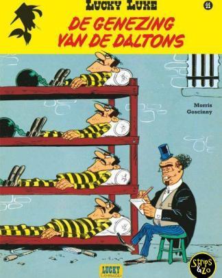 Lucky Luke - Relook 44 - De genezing van de Daltons